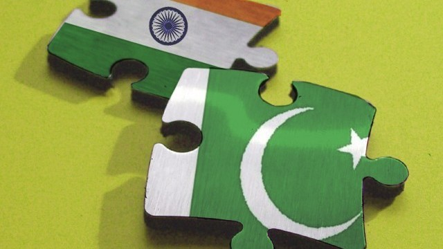 India Pakistan in Puzzel