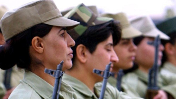 These Iraqi-Kurdish women are ready to face ISIS militants.