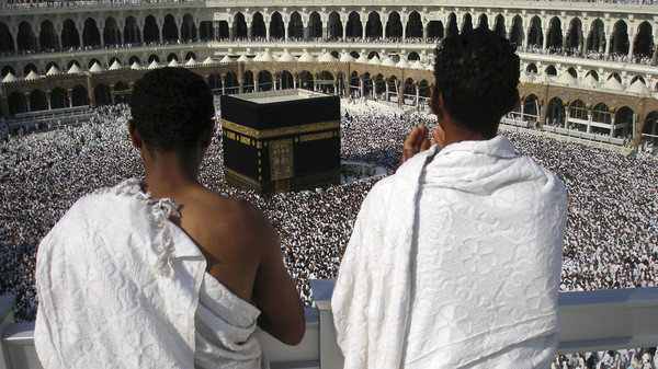 About 2 million pilgrims are expected for this year's hajj, which is scheduled to start on Oct. 2. The first group of pilgrims will arrive here from South Africa on Aug. 25.