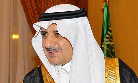 Prince Fahd bin Sultan.