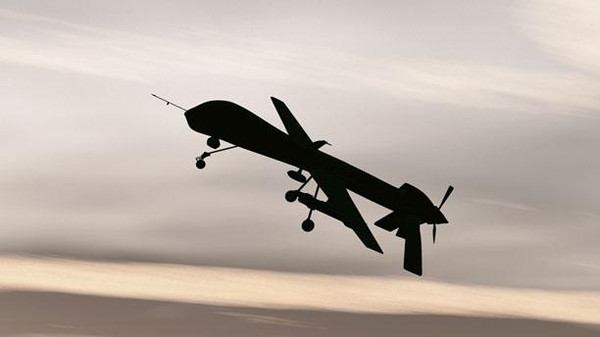 The Israeli army says the drone has strayed into Israeli airspace form Syria.