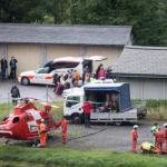 At least 3 train cars derail in Swiss Alps