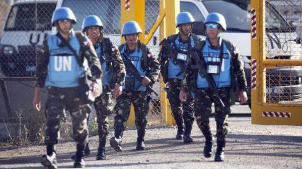 Philippines to repatriate U.N. troops in Golan, Liberia.