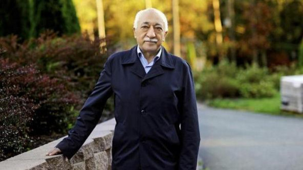 Islamic preacher Fethullah Gulen is pictured at his residence in Saylorsburg, Pennsylvania.