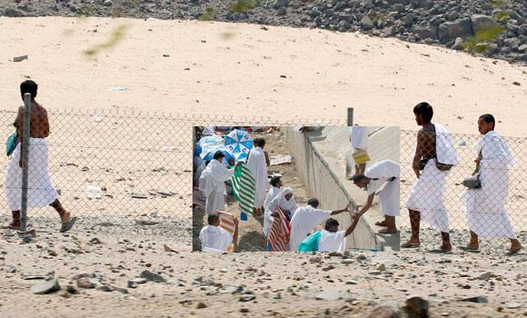 People without Haj permits often take rocky routes from Taif to Makkah, hoping to avoid security checkpoints by traveling through mountainous regions.