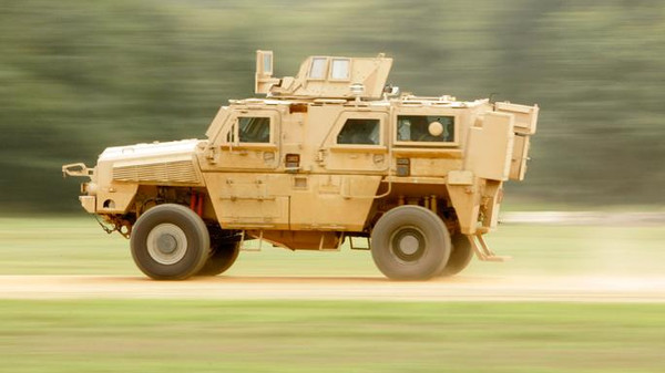 The Pentagon agency said UAE had requested the refurbishment and modification of 4,569 Mine Resistant Ambush Protected (MRAP) vehicles, similar to this one.