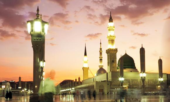 Prophet's-Mosque-in-Madinah