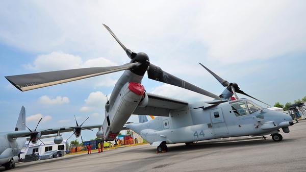 MV-22 Osprey.