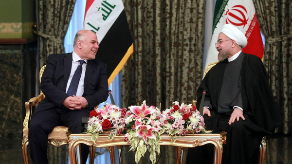 """""""We have no doubt that boosting friendly relations between Iran and Iraq will secure the interests of both countries and will serve the interests of the region,"""" said Rowhani."""