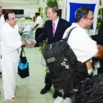 US envoys welcome American pilgrims
