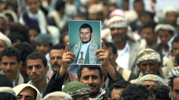 Abdel-Malek al-Houthi delivered his speech after at least 30 people were killed in clashes between his forces and al-Qaeda militants.