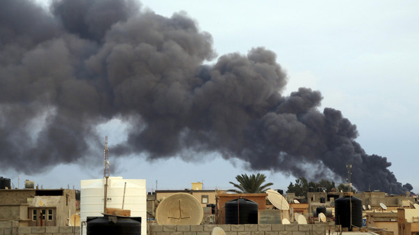 Five people were killed and more than 20 were wounded following a string of attacks in eastern Libya.