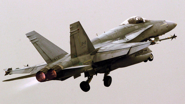 Canadian fighter jets have made their first combat strike since joining the campaign against Islamic State fighters in Iraq on Oct. 30, 2014.