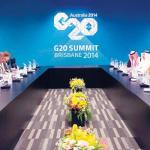 G-20: Crown prince in talks with top leaders