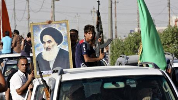 Iraq's leading Shiite cleric, Grand Ayatollah Ali al-Sistani, on Friday urged those fighting the Islamic State jihadist group to protect civilians in Sunni battlezones.