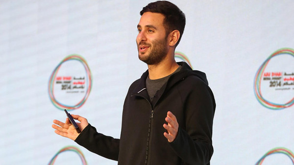 Justin Cooke, co-founder and chief executive of Tunepics, spoke at this month's Abu Dhabi Media Summit.