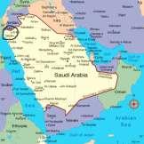 Map of Tabuk