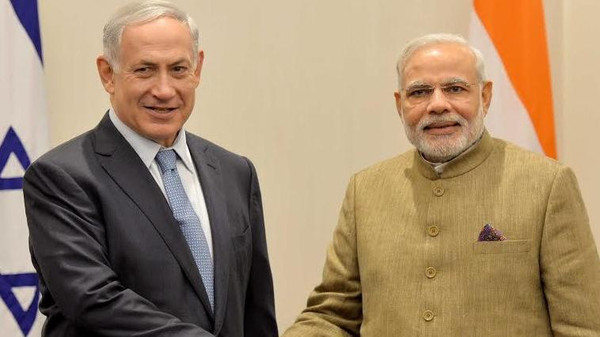 The same month as the U.N. meeting, Modi's cabinet cleared a long-delayed purchase of Israeli missiles for its navy.