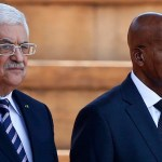 South Africa says Israel 'defying world' as Abbas visits