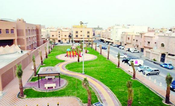 The establishment of even more parks and squares will be completed in the next few months.