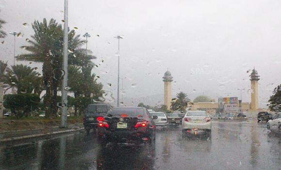 In this file photo, the resort city of Taif, which attracts a large number of tourists and holidaymakers, witnessed rains. (SPA)