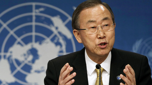 U.N. Secretary General Ban Ki-moon on Thursday urged world powers and Iran to show flexibility in nuclear deal negotiations.