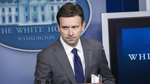 White House spokesman Josh Earnest said U.S. strategy against Islamic State in Syria and Iraq was working.