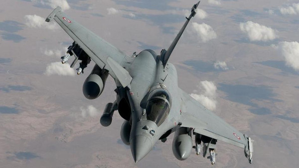 France's Rafale fighter jets took part in a raid on an ISIS training center situated in the Kirkuk region of northern Iraq