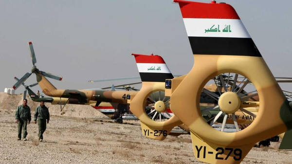 The militants have shot down at least two other Iraqi military helicopters near the city of Beiji in recent months.