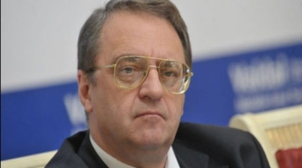Deputy Foreign Minister Mikhail Bogdanov arrived in the Syrian capital Wednesday for a two-day visit.