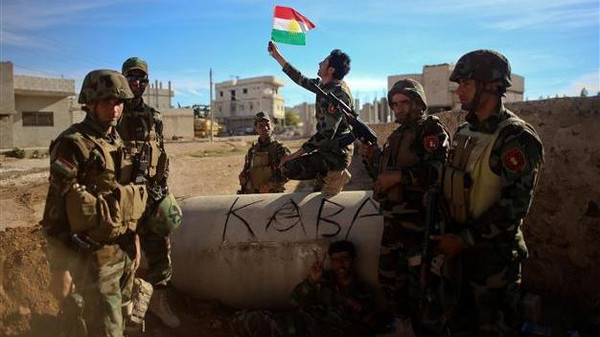 Syrian Kurdish fighters, who have been resisting ISIS fighters in Kobane for nearly three months now, have welcomed the help of fighters who are known as Peshmergas or 'those who defy death'.