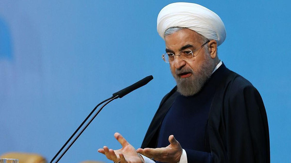 Iranian President Hassan Rowhani appeared to be alluding to Wednesday's attack in Paris, where gunmen massacred 12 people.
