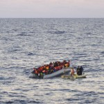 About 700 migrants rescued from boats near Libya