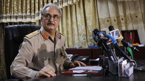 Libya's new army chief Khalifa Haftar on Monday promised his forces would take control of second city Benghazi from Islamist militias within a month.