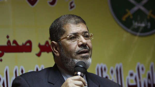 """Ten other were accused of founding a pro-Morsi group under the name of """"Judges for Egypt."""""""