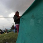 Thousands of Nepalese huddle under tents