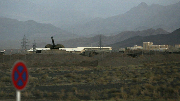 2007 file picture of an anti-aircraft gun position is seen at Iran's nuclear enrichment facility in Natanz, Iran.
