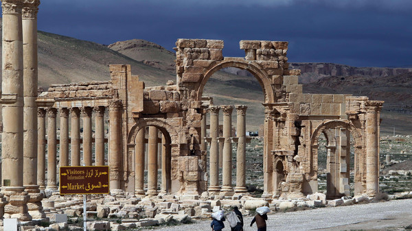 The well-preserved city of Palmyra remains one of the most important cultural centres in the ancient world, known for its unique blend of Graeco-Roman and Persian influences.