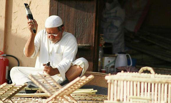 Craftspeople in Asir