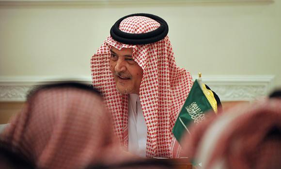 Former Foreign Minister Prince Saud Al-Faisal