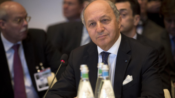 """French Foreign Minister Laurent Fabius announced at a cabinet meeting """"that there would be a meeting in Paris on the whole situation in Syria and Iraq."""""""