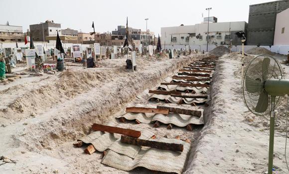 Hulaila cemetery in Qatif