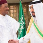 King Salman and Niger's president hold talks in Riyadh
