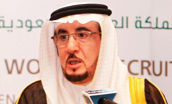 New Labor Minister Mufrej Al-Haqabani.