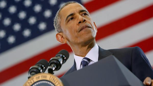 "Obama ""reaffirmed strong U.S. support"" for Iraqi Prime Minister Haider al-Abadi."