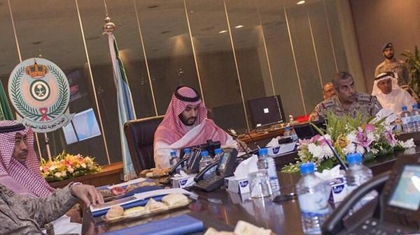 Saudi Arabia's Deputy Crown Prince Mohammed bin Salman bin Abdulaziz