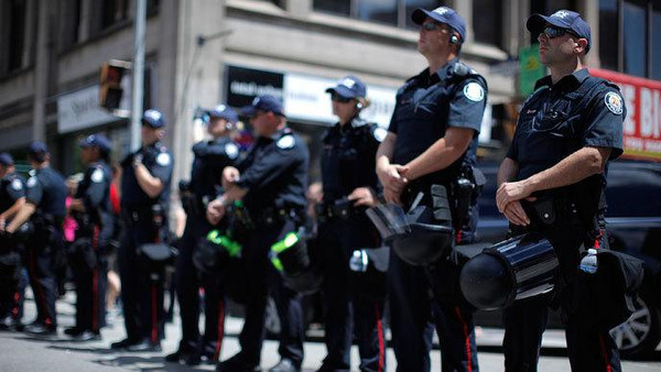The federal police arrested the group last weekend at Montreal's international airport and their passports have been withdrawn.