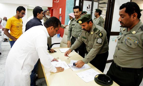 """Yemeni residents can apply for employment via the """"Ajeer"""" system. (SPA)"""