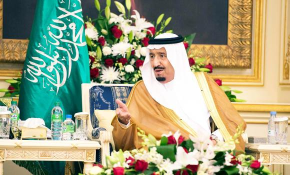 Custodian of the Two Holy Mosques King Salman urged Muslims on Wednesday to uphold the values of tolerance, love, unity and mercifulness, and reject violence and terrorism. (SPA)