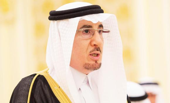 Minister of Labor Mufrej Al-Haqabani